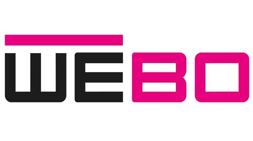 Logo voor WEBO